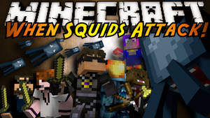 When Squids Attack Thumbnail by SkyDoesMinecraft