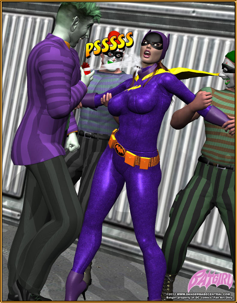 Batgirl Defeated Batgirl in trouble by mrxdbc
