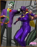 Batgirl in Trouble by mrxdbc