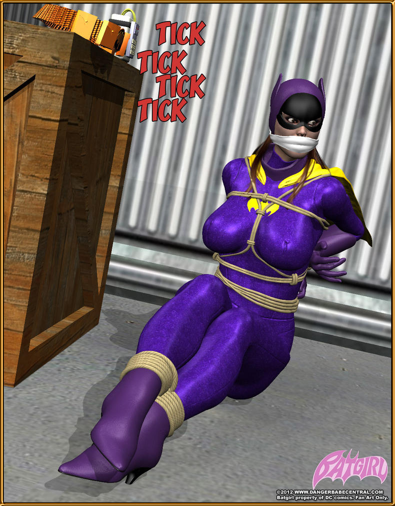 Batgirl In Trouble By Mrxdbc On Deviantart