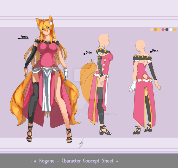 Character Concept Sheet by Asgard-Chronicles