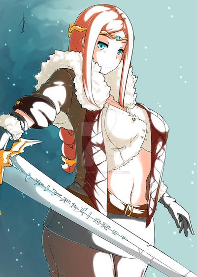 Adoptable - Geirhild SOLD by Asgard-Chronicles
