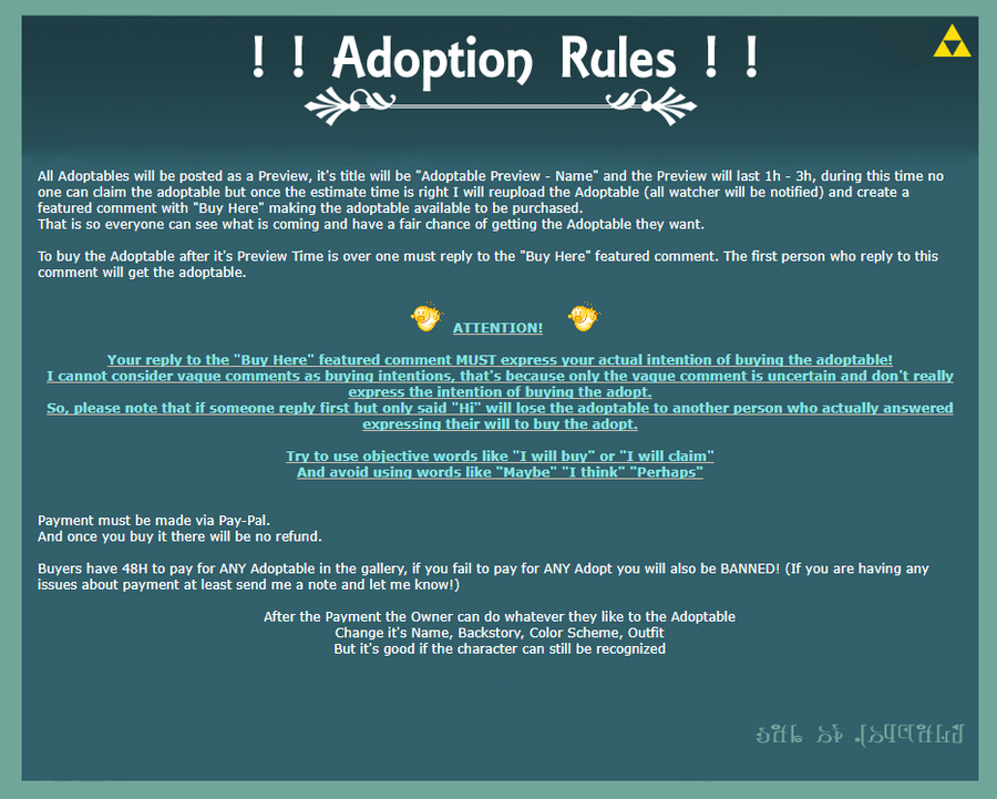 Adoption Rules by Asgard-Chronicles