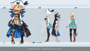 Concept Sheet - Shanoa Delacroix