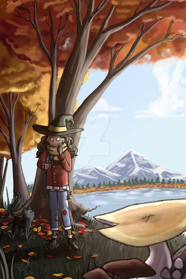 Mushroom hunting by apples-eye