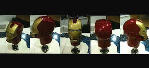 resin Iron Man