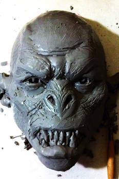WIP Monster mask