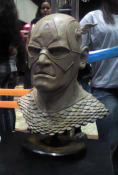 Sculpture Captain America