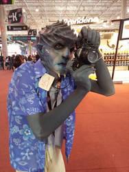 Tourist alien by Cleytonoliveira