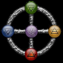 stone element circle