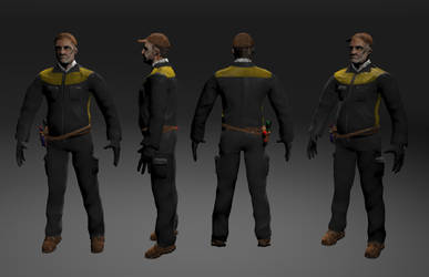 Bill Wieland Mechanic Turnaround by Scorpiu5