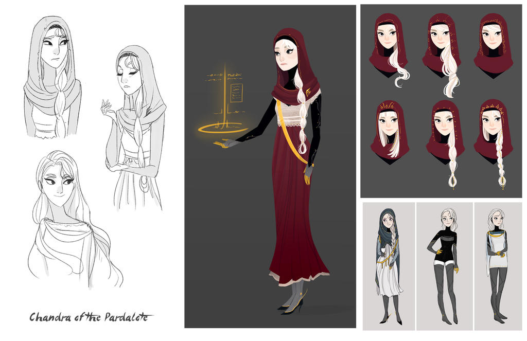 character stuff: Chandra of the Pardalote by ennemme