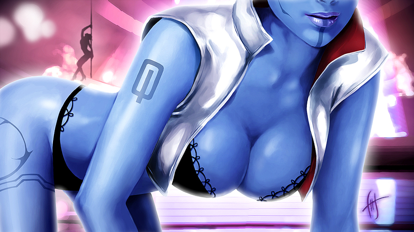 Mass Effect - Aria T'loak by Levelanix