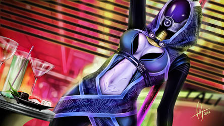 Mass Effect - Tali'Zorah