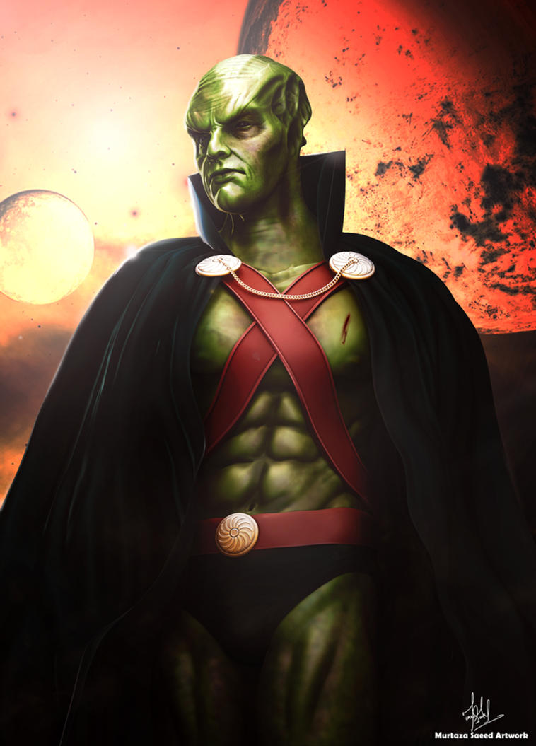 Martian Manhunter ( Justice League) by murtazasaeed