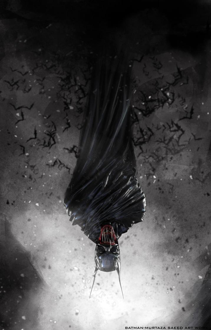 Vampire Batman by murtazasaeed