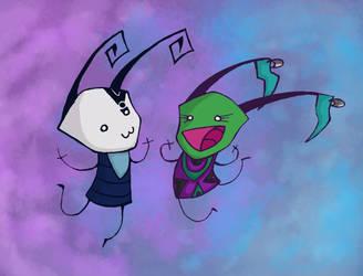FWIENDS! by DemonicCow