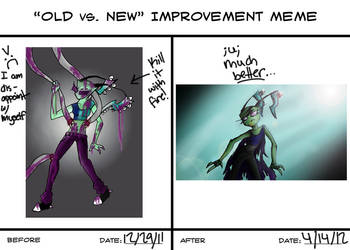 Art Improvement by DemonicCow
