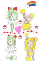 Pokemon Birthday Present For The-Shiny-Bunneary by guardianarchangel