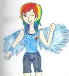 Rainbow Dash Human
