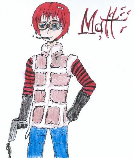 Matt From Death Note by guardianarchangel