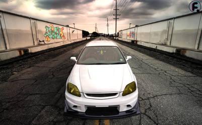 Honda Civic - S2k Voltex Bodykit by brucis21