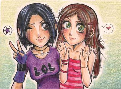 :Aby y Luna: by Hoshiko-Star