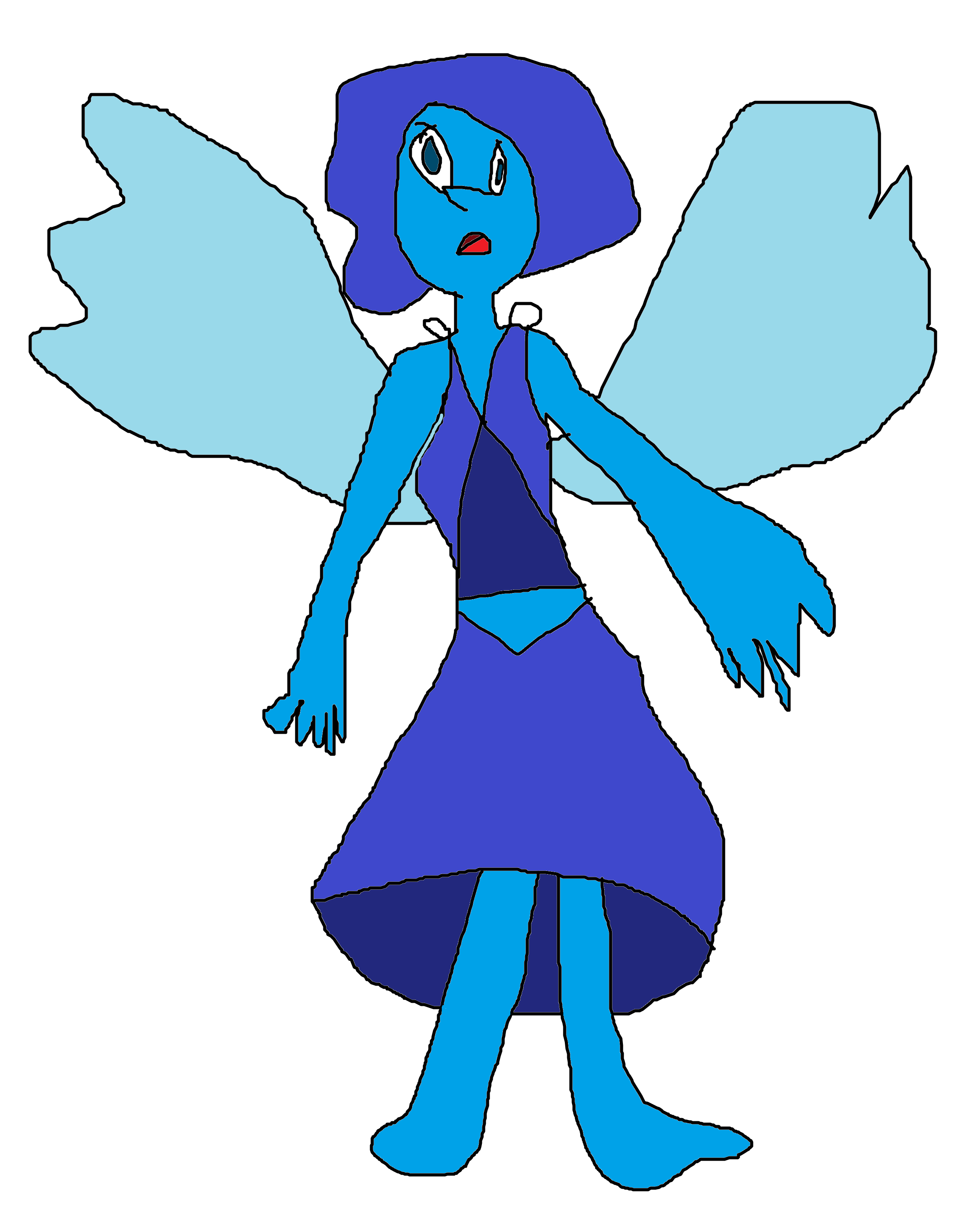 lapis lazuli steven universe fanart by sumlpfan39 on