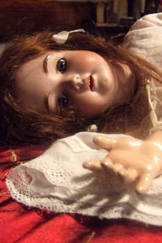 Doll posing stock 1