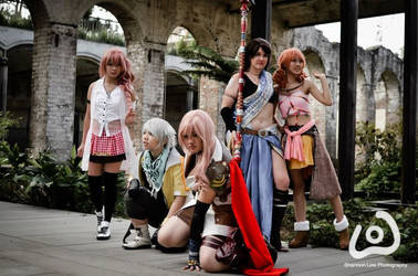 Final Fantasy XIII Group Cosplay