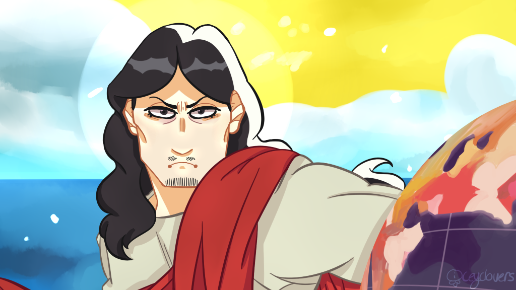 saint young men redraw by iceyclovers on deviantart