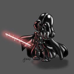 Darth Vader Chibi by Flambunny