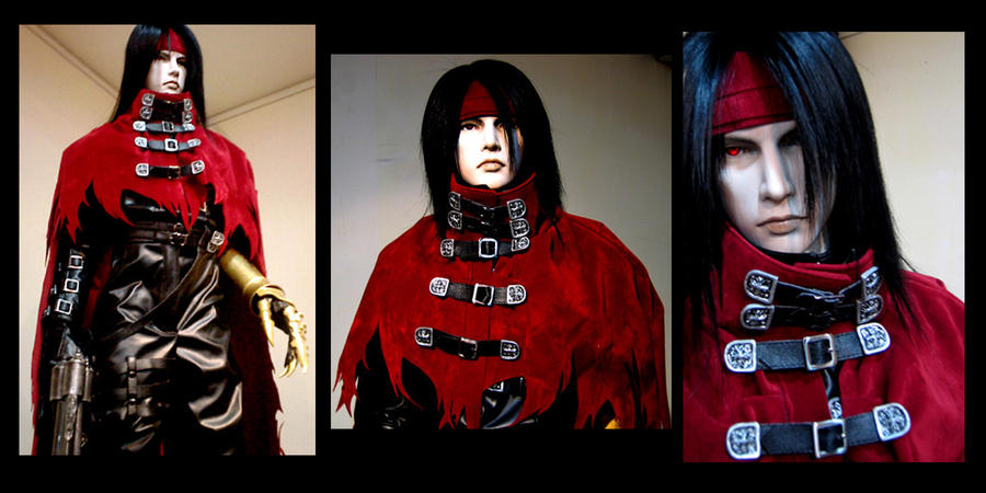 Sculpture of Vincent Valentine by Cherokee-Rose