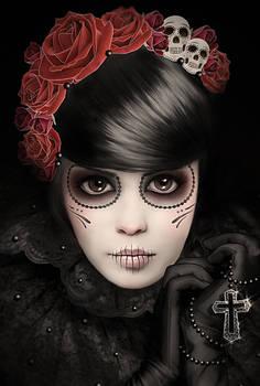 Dia de los Muertos Portrait