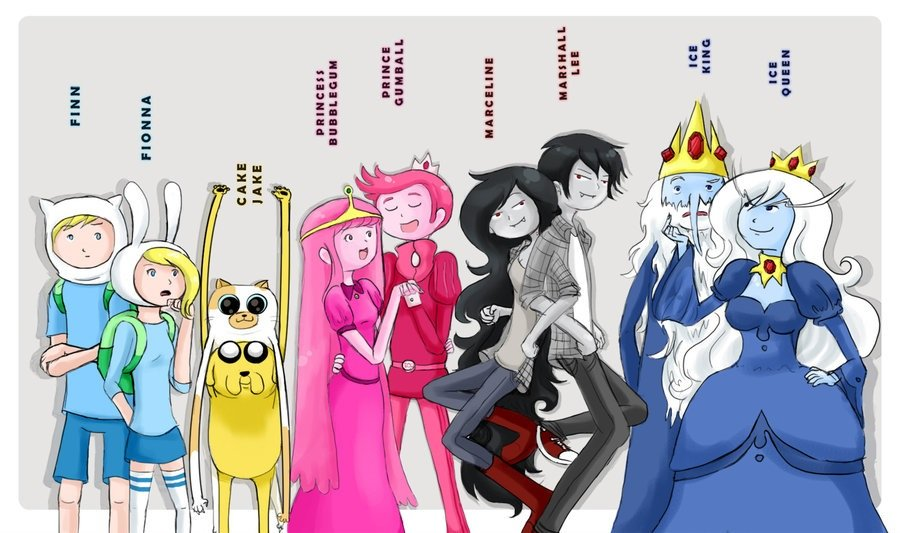 Adventure time anime by april425