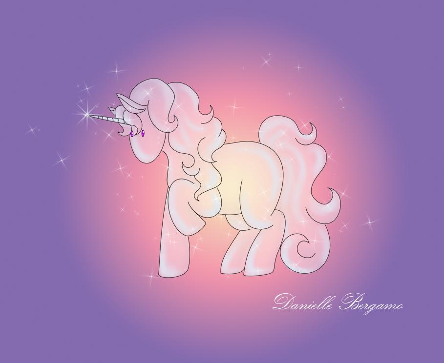 Cute Unicorn by DanielleBergamo
