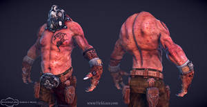 Defiler 3D Character by vickgaza
