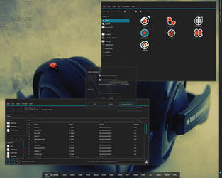 June 2008 Ubuntu Desktop by nosebleed
