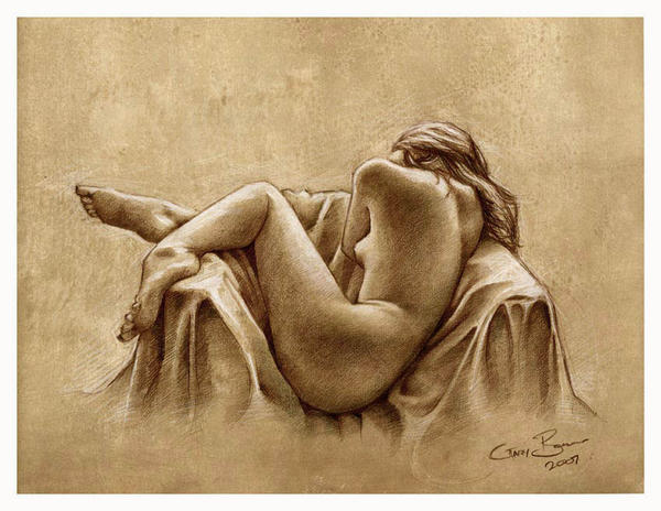Chair Nude by garybonner