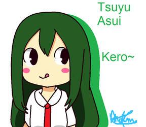MHA Tsuyu Asui by Phoems17cutieplier