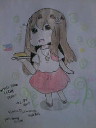 Piri-tan~! Wanna try some leche flan? by Phoems17cutieplier