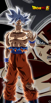Goku White Ultra instinct by MiftahulDesainArt