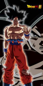 Goku Black Ultra Instinct by MiftahulDesainArt
