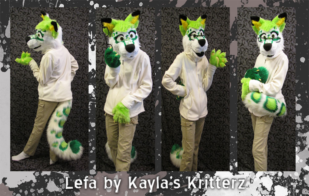 Partial Commish: Lefa by BlueWolfCheetah