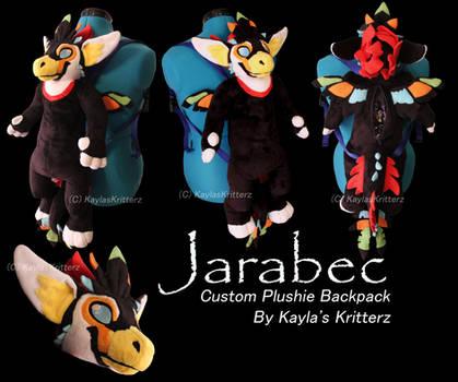 Jarabec Plushie Backpack DresdenComplex by BlueWolfCheetah