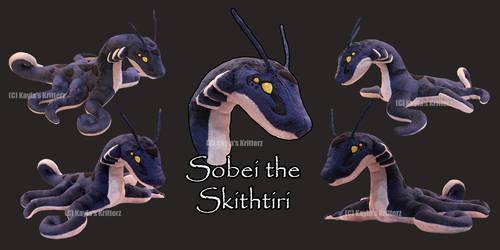 Sobei Alien Plushie by BlueWolfCheetah