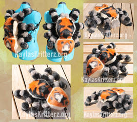 Regal Jumping Spider Plush Backpack