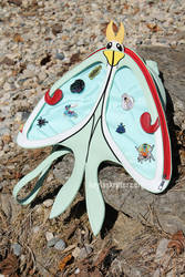 Luna Moth Ita Bags