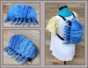 Pillbug Plushie Backpack