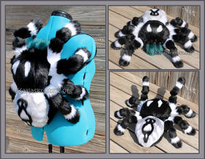 Bold Jumping Spider Plush backpack - Commission
